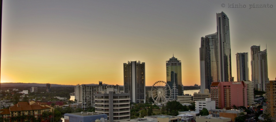 sunset @ goldcoast